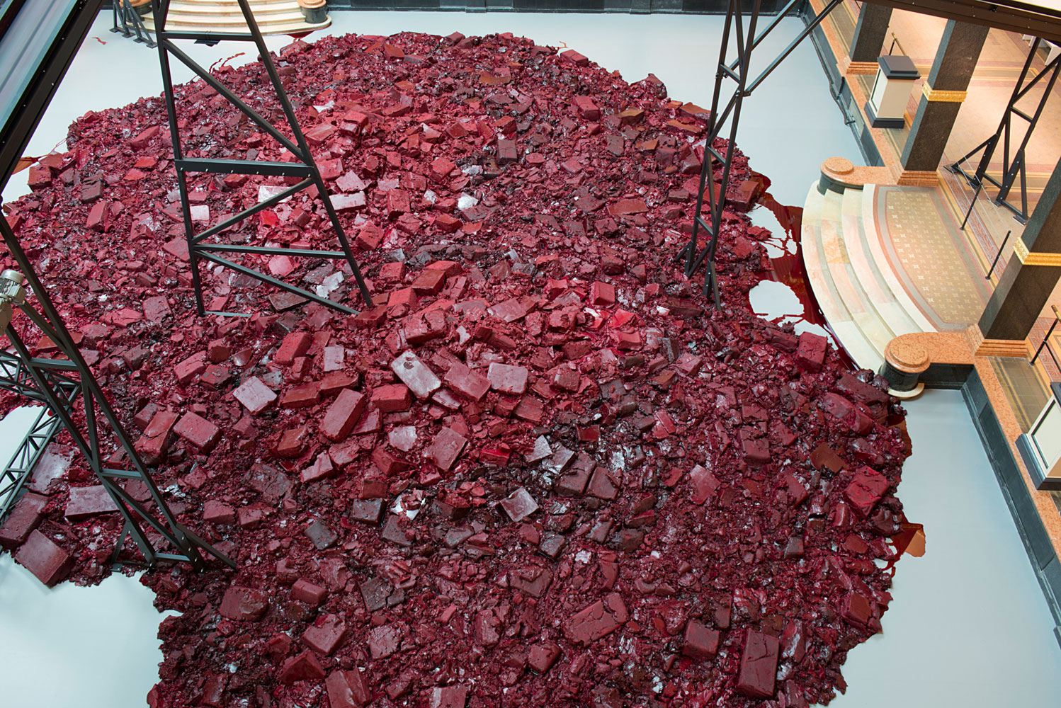 Anish Kapoor Symphony for a Beloved Sun