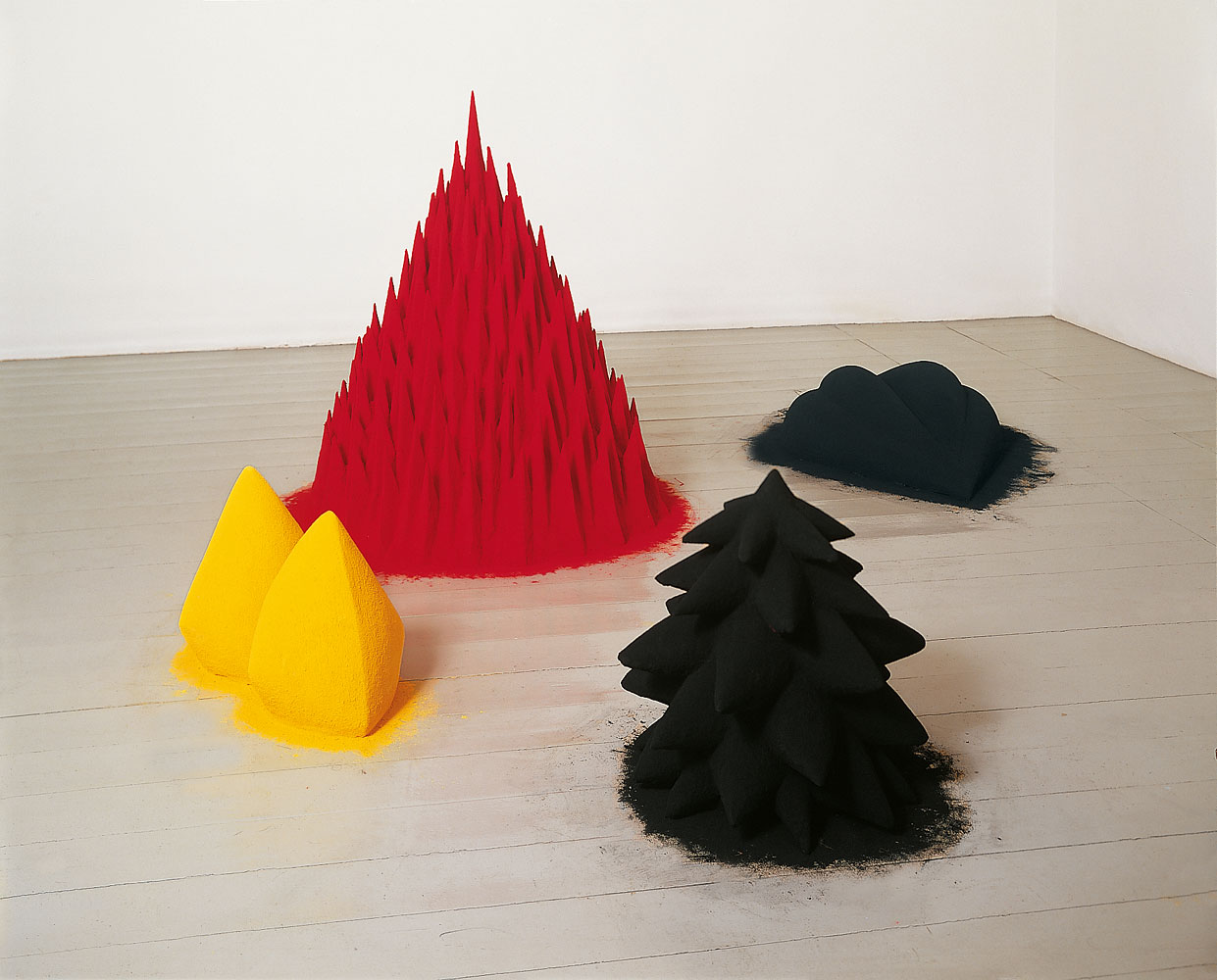 Anish Kapoor Red Paintings
